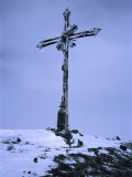Iron Cross on Summit of Volcan Misti, El Misti, Arequipa, Peru Photographic Print by Grant Dixon