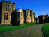 Exterior of Alnwick Castle, Alnwick, United Kingdom Photographic Print by Glenn Beanland