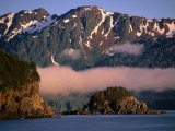 Rocky Headlands and Snow-Capped Peaks, Chichagof Island, Alaska, USA Photographic Print by Ralph Lee Hopkins
