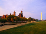 The Smithsonian Institute and Washington Mall, Washington Dc, USA Photographic Print by Rick Gerharter