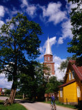 Street in Village of Gardamas, Lithuania Photographic Print by Jonathan Smith