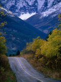 Road to Red Rock Canyon, Waterton Lakes National Park, Alberta, Canada Photographic Print by Lawrence Worcester