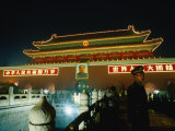 Gate of Heavenly Peace in Tiananmen Square Bejing, China Photographic Print by Phil Weymouth