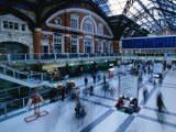 Inside the Bustling Liverpool Station - London, England Photographic Print by Doug McKinlay