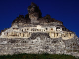 El Castillo, Ancient Classic Mayan Ruins of Xuntunich, Xuntunich, Cayo, Belize, Photographic Print