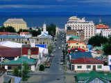 Main Street, Punta Arenas, Chile Photographic Print by David Tipling