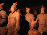 Terracotta Warriors of Xi'an, Xi'an, China Lámina fotográfica por Keren Su