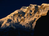 Dawn Light on Lamjung Himal on Annapurna Trek, Gandaki, Nepal Photographic Print by Gareth McCormack
