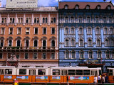 Blaha Luijza Square with Hotel Mercure on Right, Budapest, Pest, Hungary, Photographic Print by Roberto Gerometta