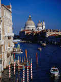 Grand Canal and Domes of Chiesa Di Santa Maria Della Salute in Distance, Venice, Italy Photographic Print by Gareth McCormack