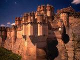 Castillo De Coca, Segovia, Castilla-Y Leon, Spain Photographic Print by Stephen Saks
