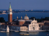 Island Tower and Buildings, San Giorgio Maggiore, Veneto, Italy Photographic Print by Roberto Gerometta