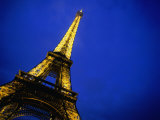 Eiffel Tower - Paris, France Lámina fotográfica por Jan Stromme