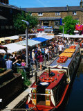 Camden Lock Market, Camden, London, United Kingdom Photographic Print by Setchfield Neil