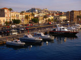 Boats in Harbour, Milazzo, Italy Photographic Print by Wayne Walton