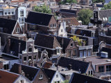 High-Pitched Roof-Tops of Houses, Amsterdam, Netherlands Photographic Print by Rick Gerharter