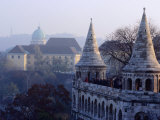 The Fisherman's Bastion and Gellert Hill, Budapest, Hungary Photographic Print by David Greedy