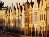 Houses on Namesti Zachariae Z Hradce (Old Town Square), Telc, Czech Republic Photographic Print by Witold Skrypczak