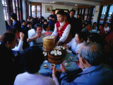 Inside Nanxiang Steamed Bun Restaurant, Shanghai, China Photographic Print by Phil Weymouth