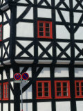 Half-Timbered House of Medieval Town Erfurt, Thuringia, Germany Photographic Print by John Borthwick