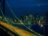 City View from the Bay Bridge, San Francisco, California, USA Photographic Print by Jan Stromme