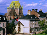Hotel Chateau Frontenac, Quebec City, Canada Photographic Print by Wayne Walton