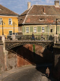 The Liar's Bridge, Sibiu, Romania, Photographic Print by Diana Mayfield