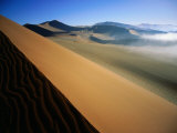 Sand Dunes, Namib-Naukluft Desert Park, Sossusvlei, Namibia Photographic Print by David Wall