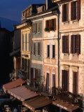 Buildings in Orta San Guilio, Italy Fotoprint van Stephen Saks