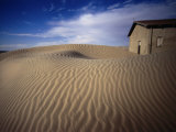 Former Diamond Mining Town Now Covered by Sand Dunes Kolmanskop, Karas, Namibia Photographic Print by John Borthwick