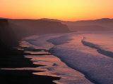 Drakes Bay at Sunrise, Point Reyes National Seashore, USA Fotografisk tryk af John Elk III