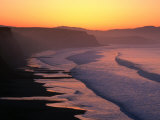 Drakes Bay at Sunrise, Point Reyes National Seashore, USA Fotodruck von John Elk III