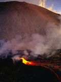 Lava Flow of Kilauea Volcano, Kilauea, USA Photographic Print by Peter Hendrie