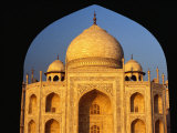 The Taj Mahal Framed by an Arch, Agra, Uttar Pradesh, India Photographic Print by Richard I'Anson