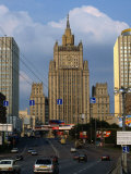 Central Tower of Foreign Affairs Ministry Building, Moscow, Russia Photographic Print by Jonathan Smith