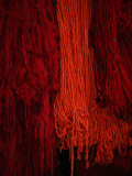 Dyed Wool at Souq, Marrakesh, Morocco Fotografiskt tryck av Mark Daffey