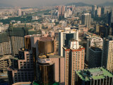 View Over City Centre, Shenzhen, Guangdong, China Photographic Print by Keren Su