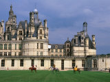Equestrian Show at Chateau De Chambord in Loire Valley, Chambord, France Photographic Print by Diana Mayfield