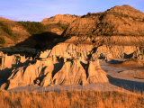 South Unit Area in Badlands, Theodore Roosevelt National Park, North Dakota, USA Photographic Print by Stephen Saks
