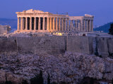 Parthenon and Acropolis from Filopappou Hill, Athens, Greece Photographic Print by Anders Blomqvist