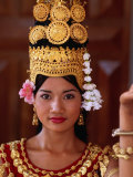 Portrait of Dancer, Siem Reap, Cambodia Photographic Print by Michael Coyne
