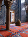Inside Rustem Pasa Camii Mosque, Turkey Photographic Print by Izzet Keribar