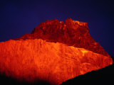 Sunrise on Cuerno Principal, Torres Del Paine National Park, Chile Photographic Print by Brent Winebrenner