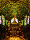 The Apse of St. Paul's Cathedral with Mosaic Ceiling, London, England Photographic Print by Setchfield Neil