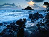 Alau Island from Koki Beach, Hana, Maui, Hawaii, USA Photographic Print by Karl Lehmann