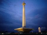 National Monument (Monas), Merdeka Square, Jakarta, Indonesia Photographic Print by Glenn Beanland