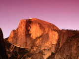 Half Dome Rock at Sundown, Yosemite National Park, California, USA Photographic Print by Thomas Winz