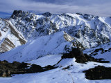 Snowfields of Oukaimeden in the High Atlas, Marrakesh, Morocco, Photographic Print