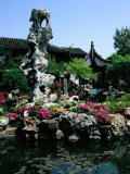 Lingering Gardens, Suzhou, Jiangsu, China Photographic Print by Diana Mayfield