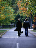 Strolling along the Esplanade, Boston, Massachusetts, USA Photographic Print by Angus Oborn